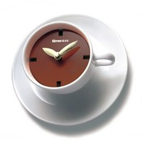 Kaffeepause Creative Teacup-Shaped Personalized Wall Clocks