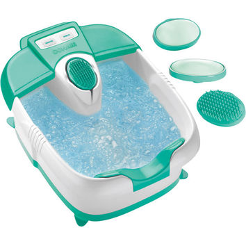 True Massaging Foot Bath with Bubbles and Heat
