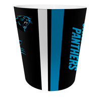 Carolina Panthers NFL 10 Bath Waste Basket