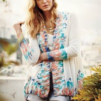 Sapphire Flame Cardigan by Guinevere Blue Motif Xxs P Sweaters