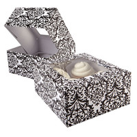 Celebrate It® Cupcake Boxes, Damask