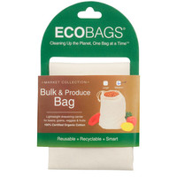 ECOBAGS Market Collection Organic Cloth Bulk and Produce Bag - Medium - 10 Bags