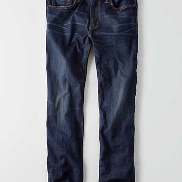 AEO Extreme Flex Original Straight Jean, Authentic Dark Indigo