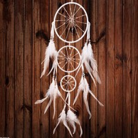DCCKJ6E Innovative Ring Home Accessory Feather Dream Catcher [9613388367]