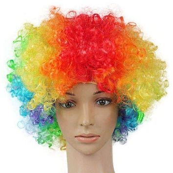 Afro/Clown Wigs - Adult - Assorted Colors