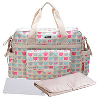 Bellotte Collection Tote Diaper Bag, Polyster, Bears