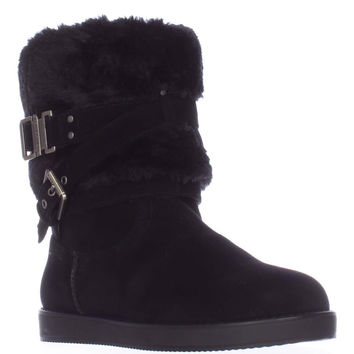 G by Guess Azzie Flat Winter Boots - Black