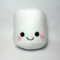 Cute Marshmallow Plush -MADE TO ORDER-