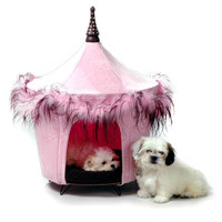 Posh and Pink Dog Bed Tent