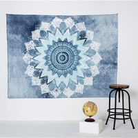 Indian Bohemian Mandala Tapestry Hippie Elephant Wall Hanging Carpet Bedspread Beach Throw Towel Yoga Mat Marocco Table Cloth