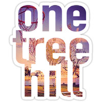 'One Tree Hill' Sticker by daniwilk