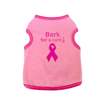 Bark for a Cure Dog Top