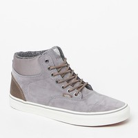 Vans Pig Suede Nylon Era-Hi Gray and White Shoes at PacSun.com