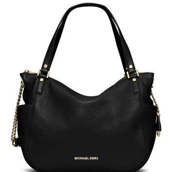 Chandler Large Convertible Shoulder Bag, Black - MICHAEL Michael Kors