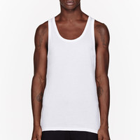 Calvin Klein Underwear White Body Relaunch Tank Top Three-pack