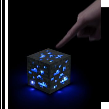 Minecraft Light-Up Diamond Ore