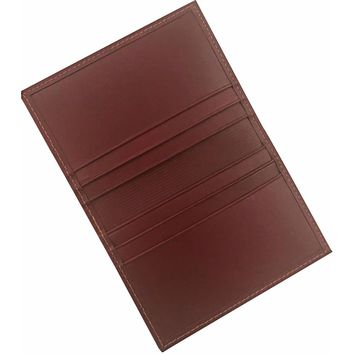 Men's Genuine Leather Luxxe Business Card Case-  The Marquee Luxxe