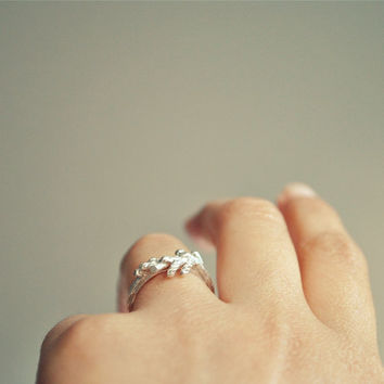 New again  Branches ring  sterling silver by TheAngryWeather