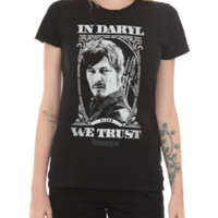 The Walking Dead In Daryl We Trust Girls T-Shirt