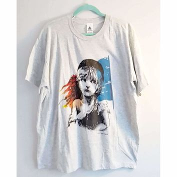 Authentic Vintage Les Misérables T-shirt from the London Production