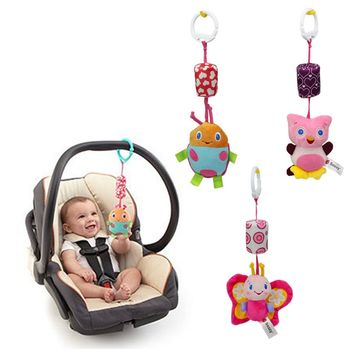 Multi-Use Variety Baby Hanging Ring with Doll