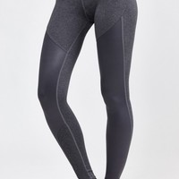 Tendu Grip Legging in Heather Grey/Wet Grey by Splits59 | New Arrivals | BANDIER
