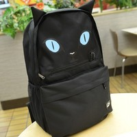 Black Harajuku Style Scary Cat Backpack Handbag from Moooh!!