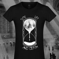 time and life. Bokko and Belial. Gothic online store. Women shirts.