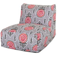 Salmon Michelle Bean Bag Chair Lounger