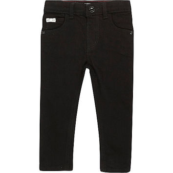 Mini boys black skinny jeans - baby boys jeans - baby boys pants - mini boys - boys