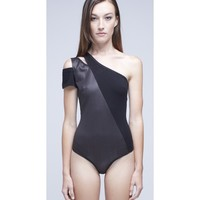 All the Right Cuts Bodysuit - #Sporty