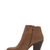 Sleek Sista Faux Leather Booties GoJane.com