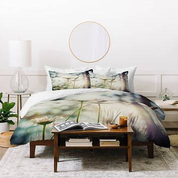 Bird Wanna Whistle Summers Past Duvet Cover