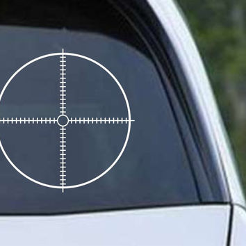 Crosshair Scope Hunting Target HNT1-12 Die Cut Vinyl Decal Sticker
