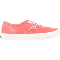 Vans Authentic Slim Womens Shoes Hot Coral  In Sizes