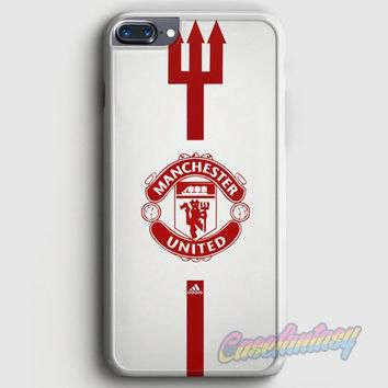 Manchester United Adidas iPhone 7 Plus Case | casefantasy
