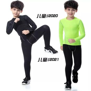 Free shipping youth long sleeves blank quick dry shirts