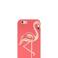 Kate Spade Flamingo Silicone Iphone 6 Case Flamingo Pink ONE