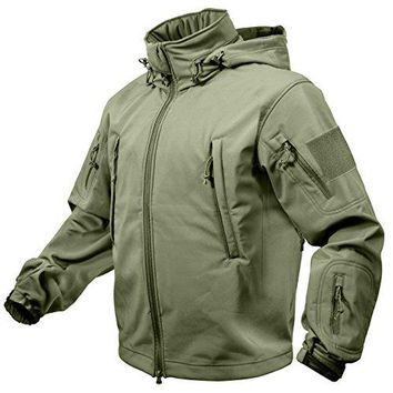 Rothco Special Ops Soft Shell Jacket, Olive Drab, X-Large