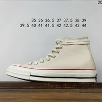 Kuyou Fa19630  Converse All Star 1970s High Top Canvas Shoes