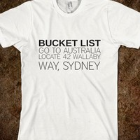 BUCKET LIST - Cash Cow