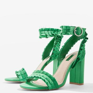 Ruby Two Part Sandals   Topshop