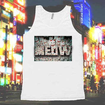 MEOW cats Tokyo unisex american apparel shirts