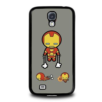 IRON MAN KAWAII Marvel Avengers Samsung Galaxy S4 Case Cover