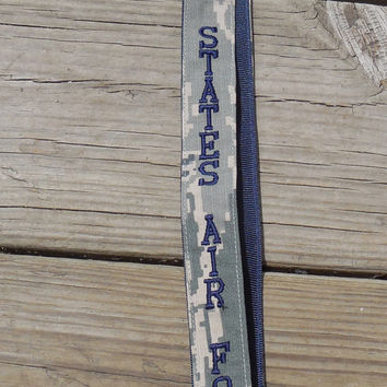 United States Air Force Lanyard, Military, Air Force ABU, Embroidered, Armed Forces