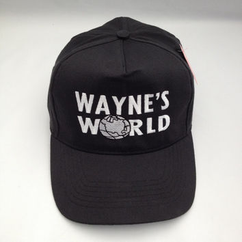 Wayne's World Embroidered Baseball Cap, hat