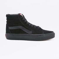 Vans Sk8-Hi All-Black Suede Trainers - Urban Outfitters