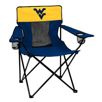 West Virginia Mountaineers NCAA Elite Chair