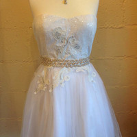 Bridal dress, Bridal gown, Wedding dress, formal dress, Party dress, White dress, Hollywood dress