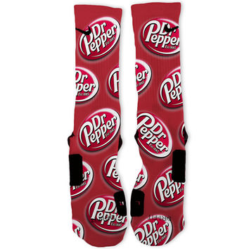 Dr Pepper Custom Nike Elite Socks